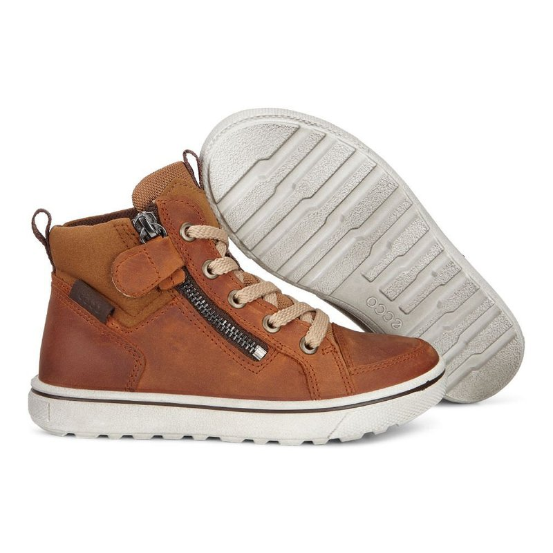Ghete copii Ecco glyder (Brown / Amber)